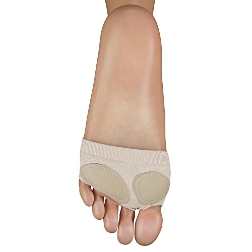 Childrens Full Sole Nude Ballet Dance Foot Thong Protector By Katz Dancewear