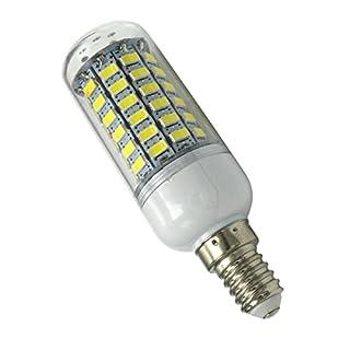 Aoxdi 1X LED E14 Bulbs Light 10W, Cool White, 69 SMD 5730 Edison Screw LED Light Bulbs Lighting, AC220-240V