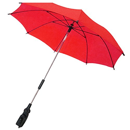 Gosear Parasol para carritos Paraguas Accesorios Rojo