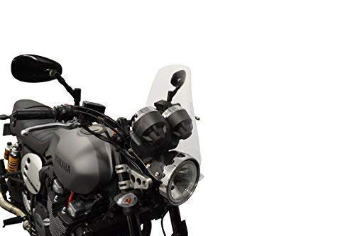 Moto Parabrisas Fly Pantalla Streetfighter Naked Muscle Bike - Pantalla Transparente