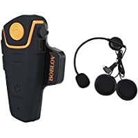 Bobov BT-S2 1000M BT casco de la motocicleta Auricular Bluetooth Intercom Moto Headset Intercom
