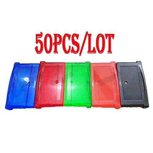 Pika-Spielkartuschenhalter in 5 Farben für Gba Gameboy Advance Spiele Kartenspiele Gehäuse 50 Stück