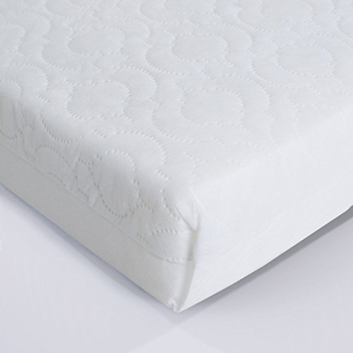 superior quilted cot mattress 120 x 60 x 10cm thick will fit mu0026p cots 200 size as well as other makes british made with high grade density foam