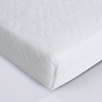 mattress 70 x 160. superior quilted cot mattress 140 x 70 10cm thick - british made with high grade density foam 160