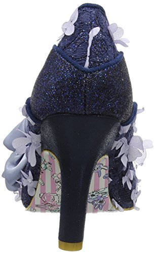 Irregular Choice Peach Melba, Escarpins femme Bleu Marine