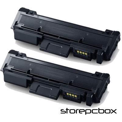 Storepcbox - KIT 2 Toner compatibilI con Samsung D116 per stampanti XPRESS M2625, M2625D, M2675F, M2675FN, M2675N, m 2675F, SL-M2875FD, M2885FW, M2835DW, 3.000 PAGINE, NERO - set 2 pezzi