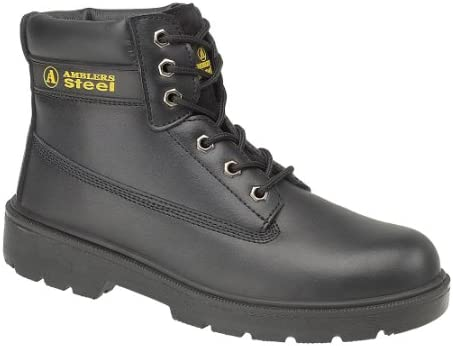 Amblers Safety FS112 Mens Steel S1 Safety Boots Black 45