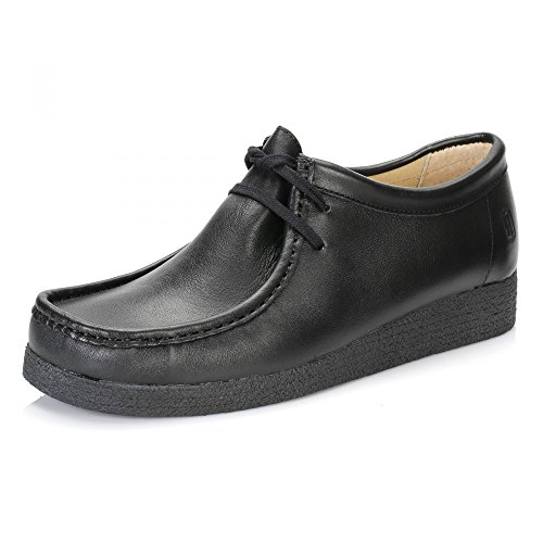 Tower 1000 Noir Napa Leather Wallaby Chaussures