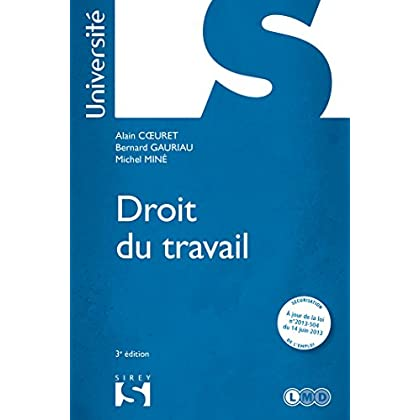 Droit du travail - 3e éd.