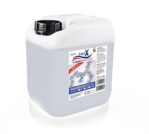 Perossido di idrogeno 119% H2O2 5 l per decolorazione capelli
