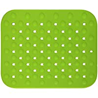 Rubber & Plastic CO., LTD Alfombrilla de Silicona para Fregadero Multifuncional 32 x 28 x 0,5 cm