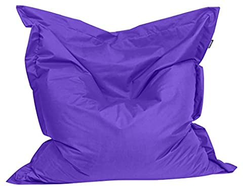 BuBiBag 1-lila-200x140cm Sitzsack, Stoff, lila, 200 x 140 x 20