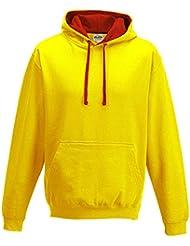 Just Hoods - Varsity Kapuzensweatshirt Sweatshirt