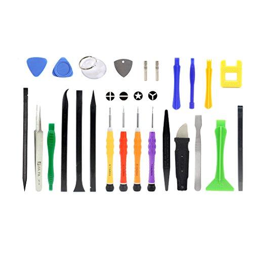 Minzhi 25 in 1 Handy-Reparatur-Kit Er?ffnung Prying Werkzeug-Set Telefon Disassemble Werkzeug f¨¹r iPhone Tablet PC Laptop - 4s Telefon-abdeckungen Iphone