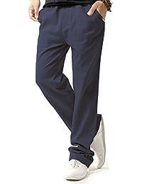 Zarlena Hose Stoffhose Freizeithose Leinenhose Einheitsgröße S-XL