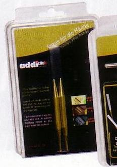 Addi Click - Punte per ferri da maglia, dimensioni: 3,75 (Addi Turbo Pizzo)