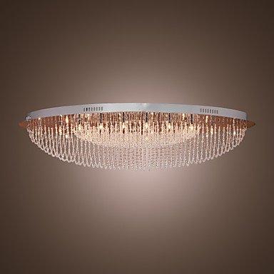 KAPITI - Lampadario stile moderno in cristallo con 24 lampadine ( Tensione : 110-120V )