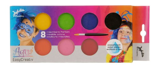 Schminke Schminkfarbe Kinder 8 Farben Makeup Make-Up