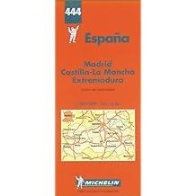 Michelin Karten, Bl.576 : Madrid, Kastilien, La Mancha, Estremadura (Michelin Maps)