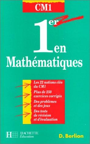 Premier en mathématiques, CM1