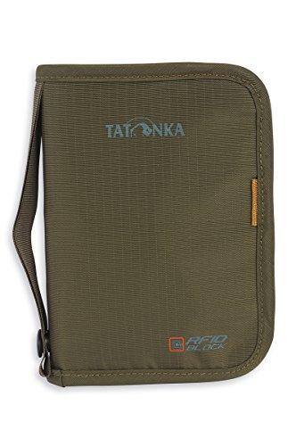 Tatonka Geldbeutel Travel Zip M RFID B Geldaufbewahrung, olive, 17 x 12 x 3 cm/M -