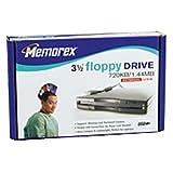 Memorex 1.44MB USB Floppy Drive (Black) (Discontinued by Manufacturer)