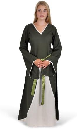 Medievale Vestito Vestito Vestito Merlyn, verde naturale - Abito Medievale - LARPkleid - abito medievale - L XL B00KG2FHQ4 Parent | acquisto speciale  | moderno  | Raccomandazione popolare  8b9d79
