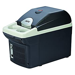 AEG Automotive 97253 On-board bar BK 6, thermoelectric cooler and heat box, 6 liters, 12 V and 230 V