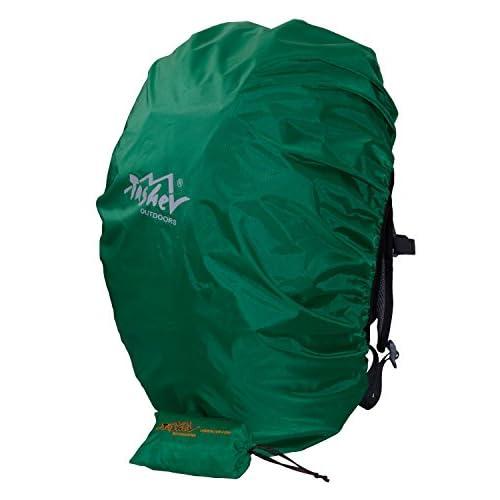 41RZCEmkkpL. SS500  - Tashev Trekking Waterproof Rain Backpack Cover 40 to 60 litres