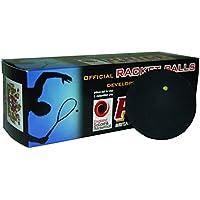 Ransome Racket - Pelota de racketball, color negro