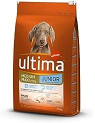 Ultima Pienso para Perros Medium-Maxi Junior con Pollo - 7500 gr