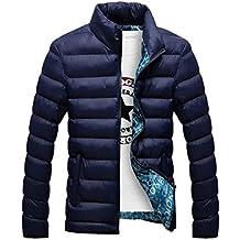 Hombres Caliente Abrigo con capucha sudadera abrigo anorak invierno chaqueta abajo