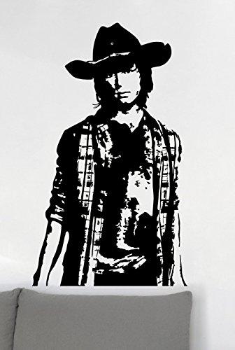 Preisvergleich Produktbild Wandtattoo The Walking Dead - Carl Wamdbild Größe L