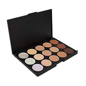 FantasyDay® Professionale 15 Colori Correttore Cosmetico Camouflage Palette Trucco #1 - Adattabile a Uso Professionale che Privato