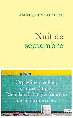 Nuit de septembre (Littérature Française)