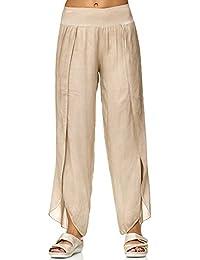 Suchergebnis auf Amazon.de für  Elfenbein - Hosen   Damen  Bekleidung 61c7fb0eb9