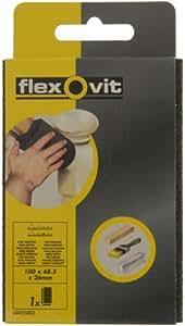 FLEXOVIT FX63642556852 Sanding Sponge, Fine/ Medium