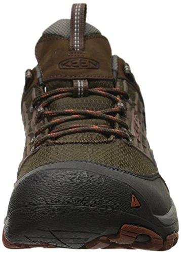 Keen Homme Chaussures de randonnée saltzman WP Gris - Cascade Brown/Gingerbread
