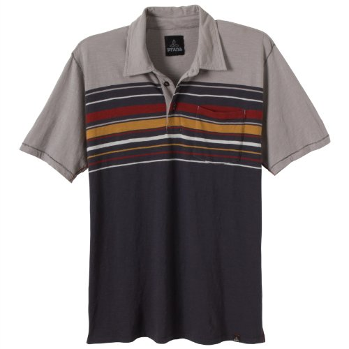 prAna – Herren Short Sleeve Marco Polo anthrazit
