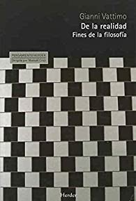 De la realidad: Fines de la filosofía par Gianni Vattimo