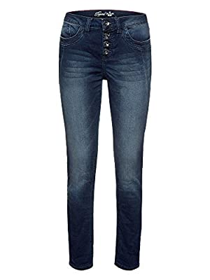 Tom Tailor Women's Relaxed Tapered Denim Jeans