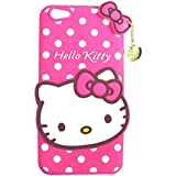 Rapid Zone Cute Hello Kitty Back Cover For Vivo Y53 - Pink