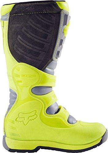 Fox Motocross-Stiefel Comp 5 Gelb Gr. 42.5 - 2