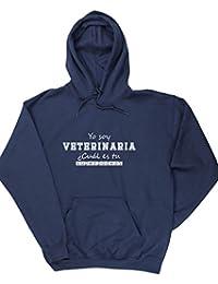 HippoWarehouse Yo Soy Veterinaria, ¿Cuál es tu Superpoder? jersey sudadera con capucha suéter