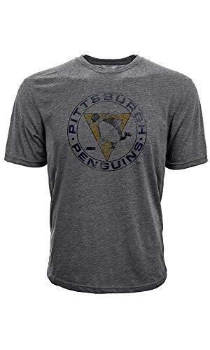 Levelwear NHL Pittsburgh Penguins Retro T-Shirt, Größe :XL