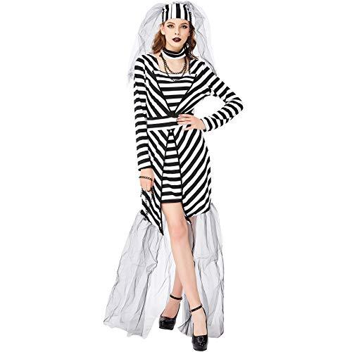 - Schwarz Und Weiß Stripes Kostüme