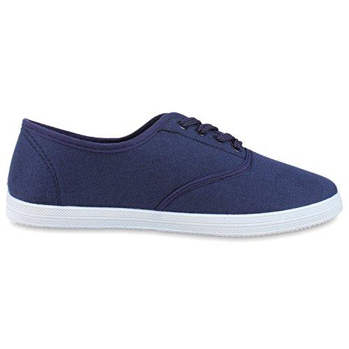 best-boots Ballerine Sneakers Sneaker scarpe da ginnastica Dunkelblau Weiss Nuovo
