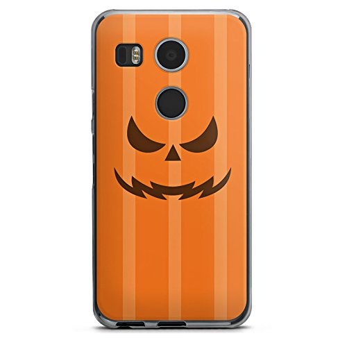 Kürbisse Halloween Google (Google Nexus 5X Hülle Case Handyhülle Kürbis Gesicht)