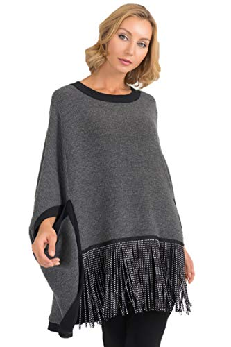 Joseph Ribkoff Charcoal & Black Cover-Up Style 193479 - Fall/Winter 2019