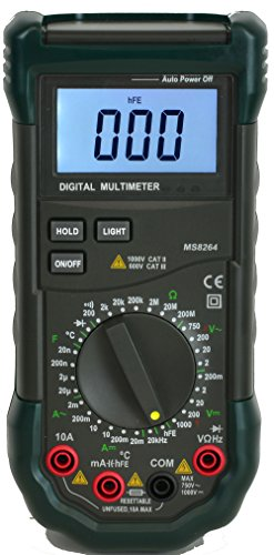 MASTECH MS8268 multímetro digital ac/dc Auto/Manual Range Digital